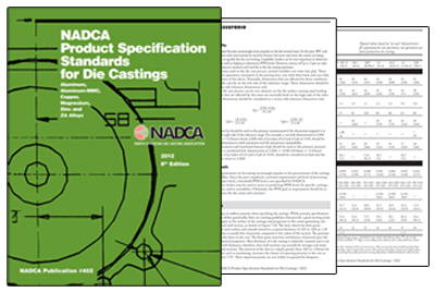 NADCA Product Specification Standards for Die Casting