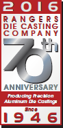 rangers die casting company 70th anniversary 1946